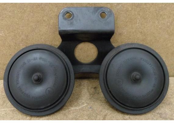 Claxon's op beugel GPZ 600 R