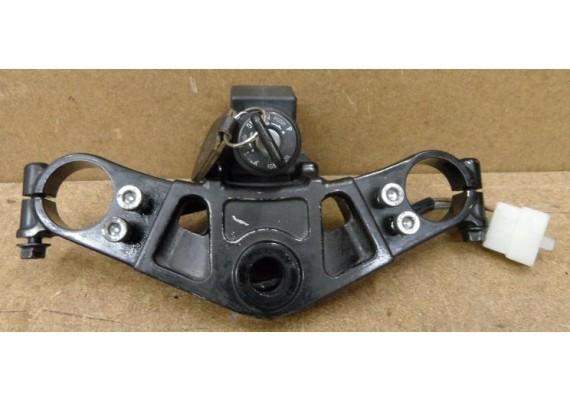 Kroonplaat zwart incl. contactslot met sleutel GPZ 600 R