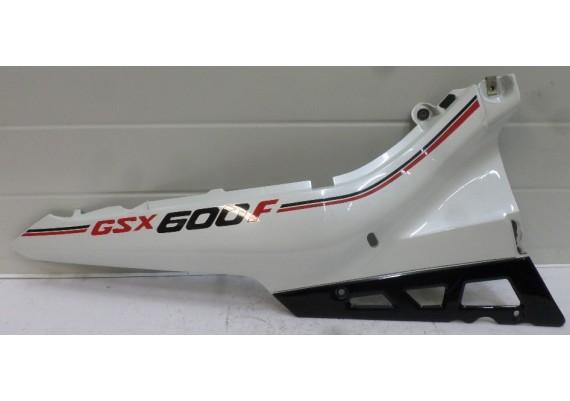 Achterkant / kont rechts parelmoerwit/zwart/rood GSX 600 F