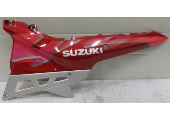 Achterkant / kont links rood-paars-zilver (1) GSX 600 F