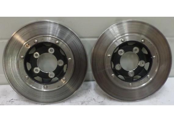 Remschijven voor (set 1) 4,8 mm. CB 450 N