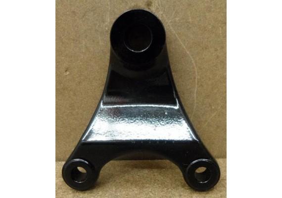 Ankerplaat achterremklauw zwart gepoedercoat GSX 750 EF ES