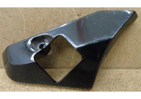 Kapje voetsteun links zwart gepoedercoat GSX 750 EF ES