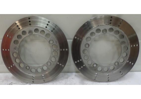 Remschijven voor (set 1) 270 x 130 x 5 mm. ZN 750 LTD