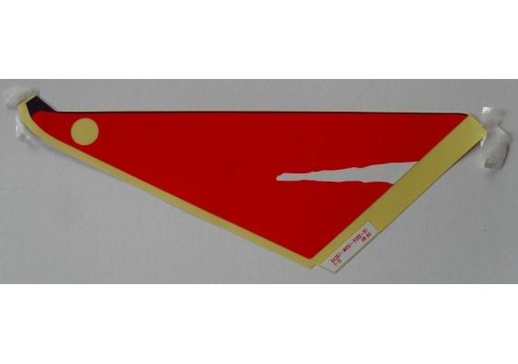 Sticker 64307-MV9-930ZA CBR 600 F2