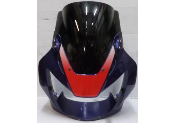 Topkuip paars/rood/wit (1) inclusief donkere kuipruit (beide aangepast) 64210-MCJA-0000 CBR 900 RR SC44