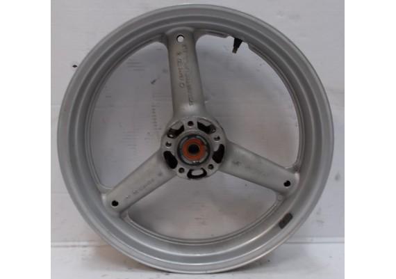 Voorvelg zilver (1) J17 x MT3.50 SV 650 N/S