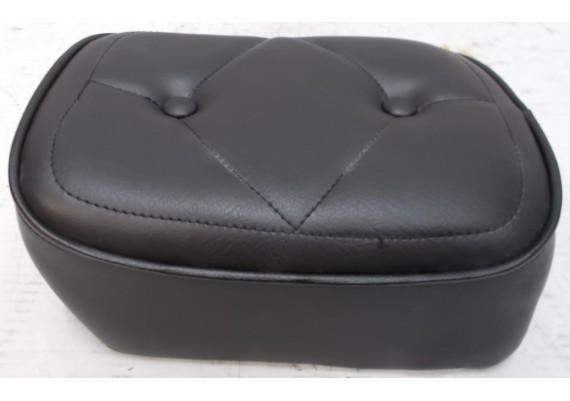 Zadel / buddyseat achterste deel zwart (2) OPNIEUW BEKLEED !! CMX 450