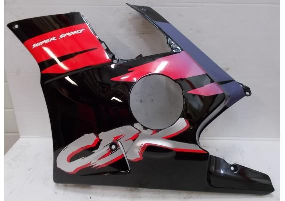 Zijkuip links zwart/paars/rood/zilver (2) 64350-MV9-0000 CBR 600 F PC25
