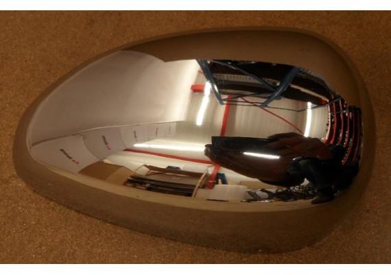 Zijkapje chroom links voor 2GV-14603-00 XV 535