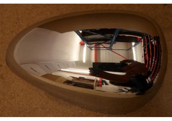 Zijkapje chroom rechts voor 2GV-21731-00 XV 535