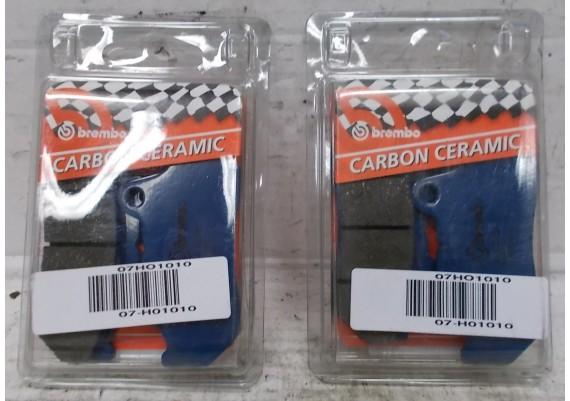 Remblokken voor (set van 2 stuks) Carbon Ceramic Brembo VF 1000 F