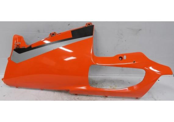 Onderkuip links oranje-rood/zwart/zilver (1) RSV 1000