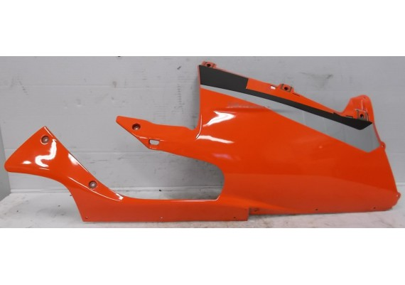 Onderkuip rechts oranje-rood/zwart/zilver (1) DIS 101770 RSV 1000