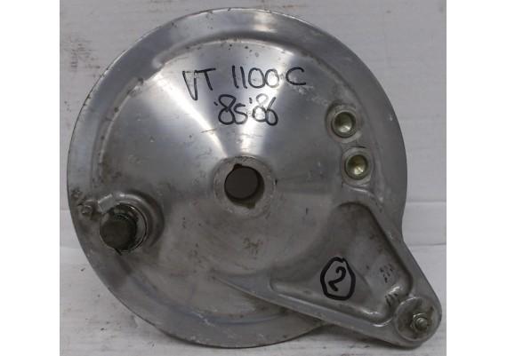 Remtrommel (2) inclusief goede remschoenen VT 1100 C