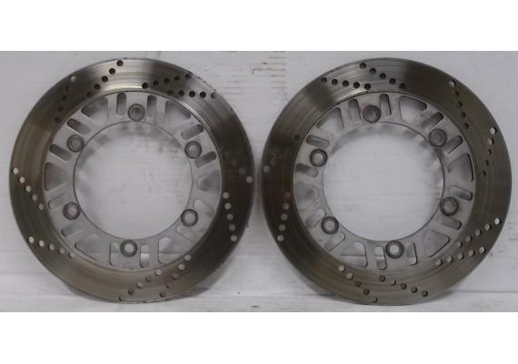 Remschijven voor (set) 4,7 mm. GTR 1000