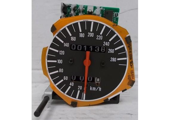 Kilometerteller / snelheidsmeter (1138 km.) 37200-MAL-G00 CBR 600 F3