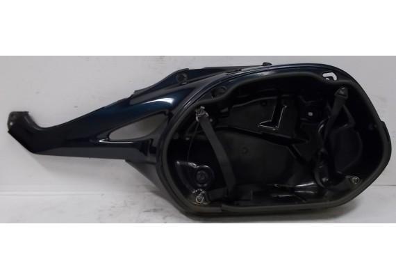 Kofferbak links blauw PB230 / zwart (1) 77230-MBLF-6100 NT 650 V