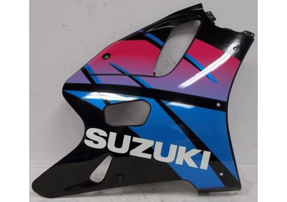 Zijkuip rechts zwart/blauw/paars (1) 94471-17E0 GSXR 750 W