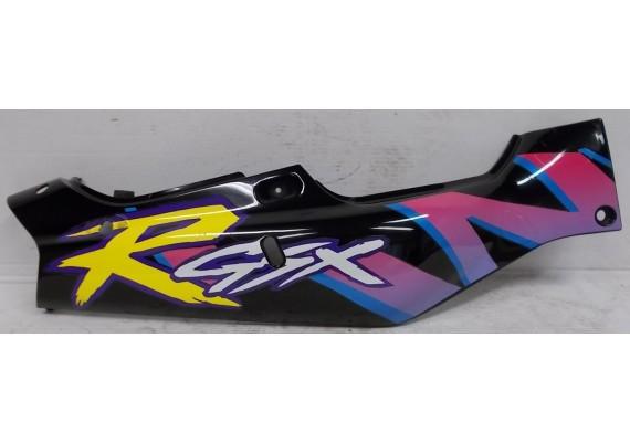 Achterkant/kont rechts zwart/paars/blauw/geel/zilver (1) 47111-17E R GSXR 750 W