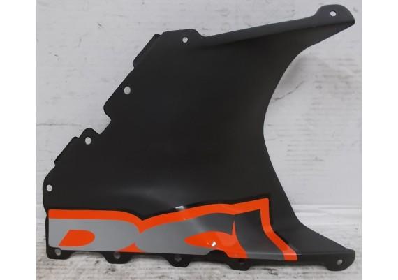 Inspectieluik rechts zwart/zilver/oranje (1) DIS.104715 RSV 1000