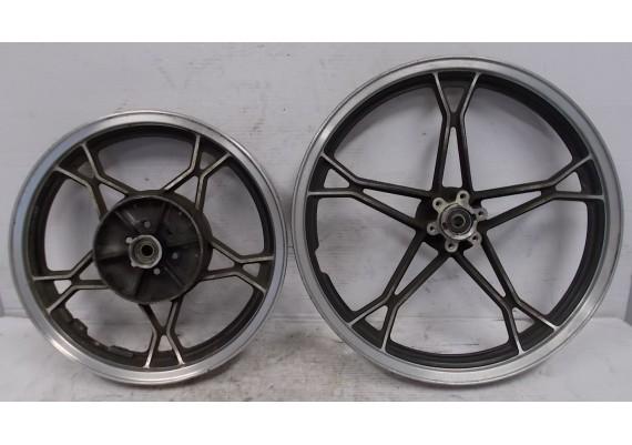 Set velgen zwart/aluminium (1) GS 450 L