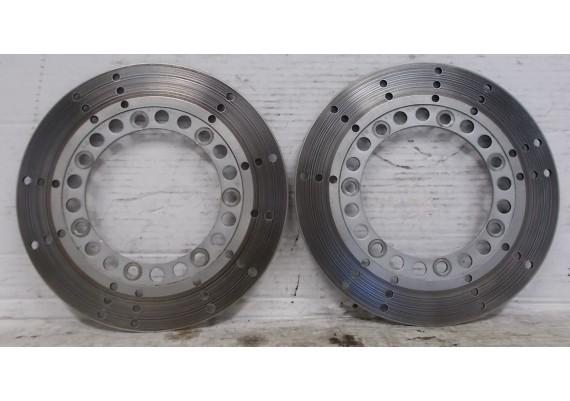 Remschijven voor (set 1) 4,8 mm. VN 750