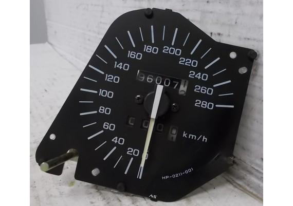 Snelheidsmeter / kilometerteller (96007 km.) VFR 750 F RC36