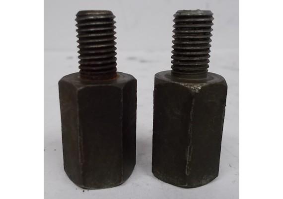 Spiegelverhogers (set) 25 mm. CM 400 T