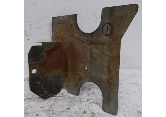 Hitteschild staal (1) XV 700