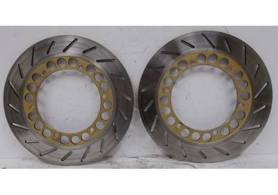 Remschijven voor (set 2) 4,5 mm. XV 700