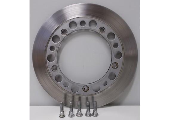 Remschijf links voor (1) 4,85 mm. inclusief bevestigingsboutjes CB 450 SC