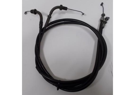 Gaskabels (set) CB 450 SC