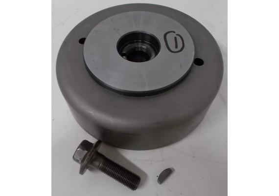 Vliegwiel / rotor (1) LN216 037000-2130 5GZ inclusief bout en spie VF 700/750 C S.M.