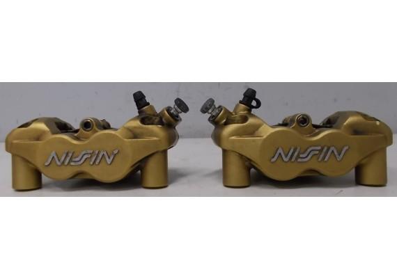 Remklauwen voor (set 1) Nissin Radiaal ! inclusief remblokken Speed Triple 1050