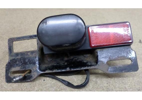 Kentekenplaatverlichting incl. kentekenplaathouder CB 550 SC