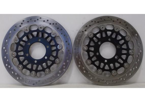 Remschijven voor (set 1) 3,75 - 3,85 mm. Speed Triple T509