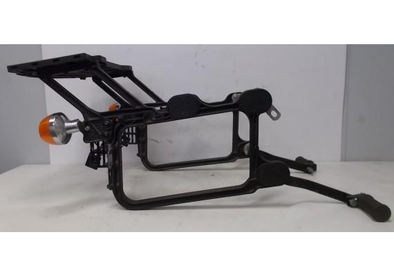 Kofferrek Krauser 1 (zijkoffers en topkoffer) inclusief knipperlichten en voetsteunen achter LTD 440