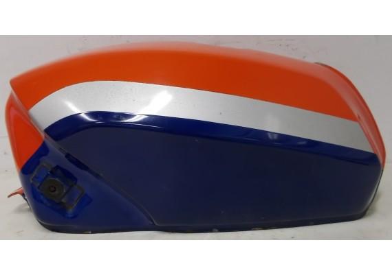 Tank rood/zilver/blauw (1) GSX 750 EF/ES