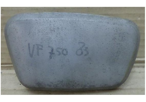 Radiateurkap links alu (1) VF 750 C