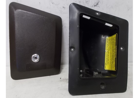 Bagagebakje topkuip rechts (1) 64220-MN5-0200 inclusief deksel bruin 64226-MN5-0100 GL 1500 J