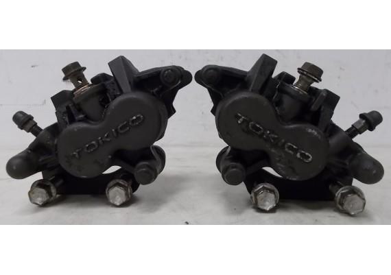 Remklauwen voor (set 1) inclusief remblokken GSX 750 F