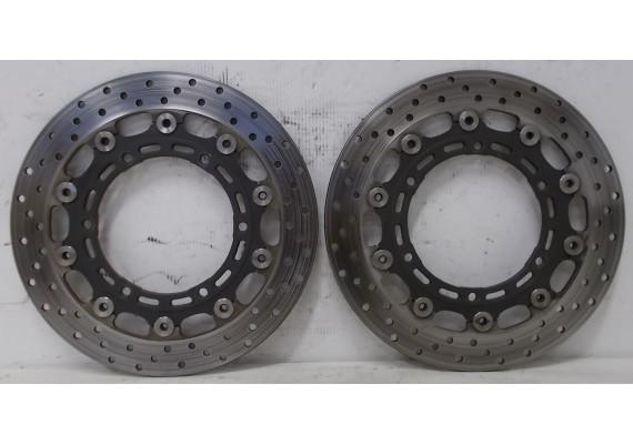 Remschijven voor (set 2) 4,6 mm. YZF 1000 R