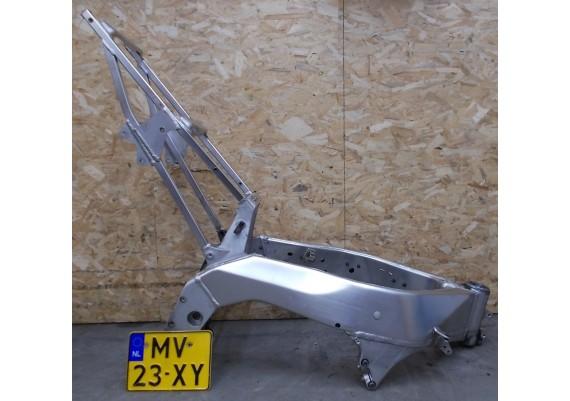 Frame met compleet Nederlands kenteken YZF 1000 R