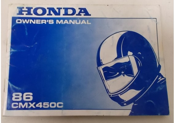 Owners Manual CMX 450 1986 0031X-MM2-6000