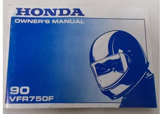 Owners Manual VFR 750 F 1990 00X31-MT4-6001