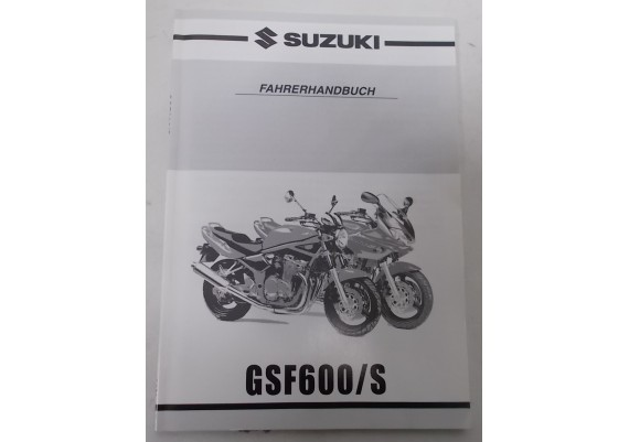 Owners Manual GSF 600/S Bandit 2000 99011-31F51-01K