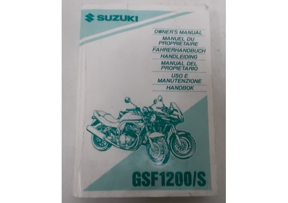 Owners Manual GSF 1200/S 1995 99011-27E50-042