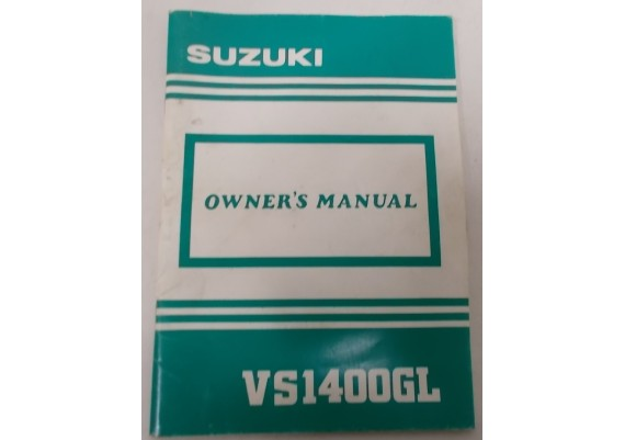 Owners Manual VS 1400 GL Intruder 1991 99011-38B55-03A