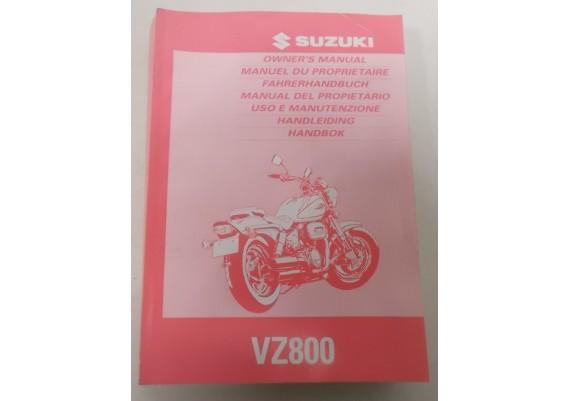Owners Manual VZ 800 1996 Engels/Frans/Duits/Nederlands o.a. 99011-48E50-042